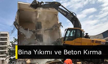 Bina Yıkımı ve Beton Kırma